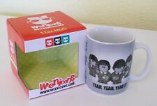 Mug WEENICONS BEATLES - 'YEAH, YEAH, YEAH' Ceramic Mug Brand New In Gift Box