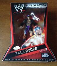 "WWE ""Zack Ryder"" SIGNED Mattel Elite Collection Series 9  Figure JSA COA AUTO"