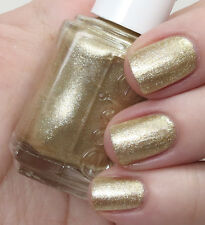 NEW! Essie nail polish lacquer in GETTING GROOVY ~ Metallic gold palladium