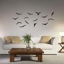 57*22cm PVC Mural Diy Sea Birds Wall Sticker Room Decal Seagulls
