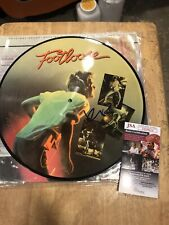 Kevin Bacon signed Footloose LP album autographed picture disc JSA Authenticated