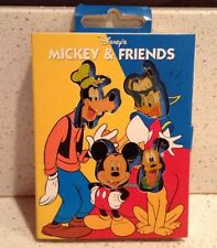 Disney Store Storybook 4 Pin Set Mickey Mouse and Friends NEW Goofy Pluto Donald
