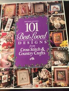 """BETTER HOMES & GARDENS 101 BEST-LOVED DESIGN Cross Stitch """"AMID AMISH LIFE"""" BOOK"""