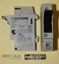 Telemeanique DF6-AB10 - 32amp (max) Cartridge Fuse Holder Used
