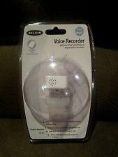 Belkin F8E462 Voice Recorder For iPod