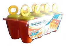 MasterCool Ice Candy Kulfi maker Popsicle Mould set of 8 (Color may vary)