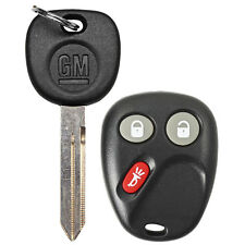 OEM Keyless Entry Remote Transmitter Fob Uncut Key Blade For Chevy Trailblazer