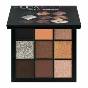 Huda Beauty Smokey Obsessions Eyeshadow 9 Colour Palette professional Makeup Box
