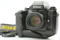 [EXC+++++] Nikon F4 S Film Camera AF NIKKOR 50mm F1.4 Prime Lens From JAPAN 719