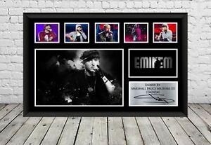 Eminem Signed Poster Photo Print Autographed Memorabilia