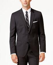 $1195 HUGO BOSS Mens Slim Fit Wool Sport Coat Gray SUIT JACKET BLAZER 50R EU 60