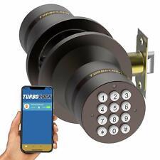 TurboLock TL99 Bluetooth Smart Lock for Keyless Entry Live Monitoring App Bronze