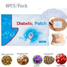 6pcs/bag Diabetic Patch Diabetes Herbal Cure Lower Blood Glucose Sugar Balance