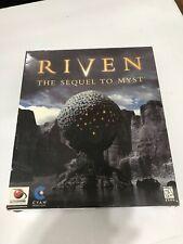 Riven: The Sequel to Myst Big Box PC Game (PC, 1998)