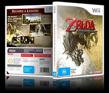 (Wii) The Legend Of Zelda: Twilight Princess (M) PAL, Guaranteed, Cleaned,Tested