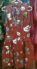 Cue Floral Dress Sz 10