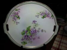 Vintage Hand painted Porcelain Serving Tray by JSV of Germany