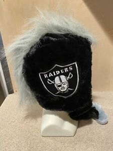 Las Vegas Raiders NFL Men's Thematic Mohawk Knit Cap ~ NWT
