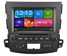 AUTORADIO/DVD/GPS/IPOD/RADIO PLAYER PEUGEOT 4007 (2007 - 2012) D8848-2