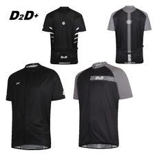 D2D pMax Men's Plus Size Short Sleeve Cycling Jersey