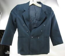 Kids Youth 6/7 DOUBLE BREASTED SUIT JACKET notched lapels, METRO BOYZ , Navy