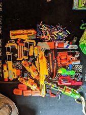 Nerf Gun Huge Lot Guns Bullets cartridges belt Used other accessories see pics