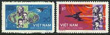 Viet Nam 340-341,MNH.Flight Voskhod 1.Cosmonauts Komarov,Feoktistov,Yegorov,1965