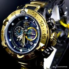 Invicta Subaqua Noma V Industrial Distressed Swiss Made Black MOP 50mm Watch New