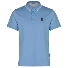 Goi Goi Men's Polo Shirt. Available in Navy & Light Blue, shipped from the UK.
