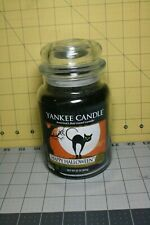 Yankee Candle Rare Collectors Edition Happy Halloween 22oz Candle Jar Never Used