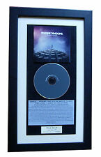 IMAGINE DRAGONS Night Visions CLASSIC CD TOP QUALITY FRAMED+EXPRESS GLOBAL SHIP