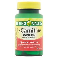 Spring Valley L-Carnitine Capsules, 500 mg, 30 Ct