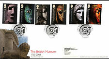 GB FDC 2003 The British Museum, London WC1 H/S #C39731