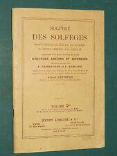 Solfège des solfèges A. LAVIGNAC pour voix de soprano Vol. 1B