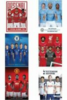 OFFICIAL FOOTBALL CLUB - 2021 A3 CALENDAR - (6 Teams) [FREE UK P&P]