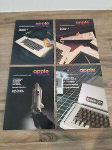 Vintage APPLE Magazine & Price Catalog - VOLUME 1 Complete Set 1-4 - RARE!!!!