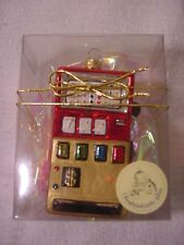 CHRISTMAS GLASS ORNAMENT SLOT MACHINE MADE IN POLAND