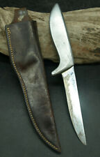 VTG Gerber Shorty Hunting / Fishing Knife ALUMINIUM HANDLE Original Sheath (E1)