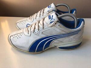 PUMA men's white sport trainers size 6/39