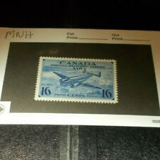 New ListingCanada Back Of The Book Stamp Ce 1 Mint Never Hinged Airmail Centered