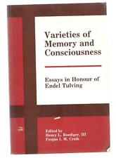 Varieties of Memory & Consciousness Essays in Honour Endel Tulving vintage 1989