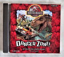 JURASSIC PARK, DANGER ZONE CD-ROM PC/MAC, Video Game in French