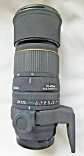 Sigma Minolta / Sony A Mount 135-400mm F4.5-5.6 hood, case, Tripod Mount & Caps