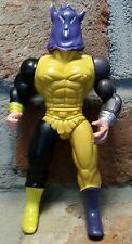 "vtg 1980s motu ko bl unknown action figure soma galaxy warrior commando ninja 6"""