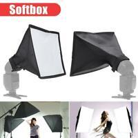 Blitz-Softbox Faltbare Kamera Diffusor Aufsteck Softbox für Blitz 20x30cm DE