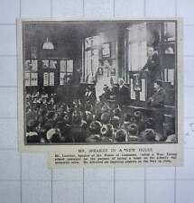1917 Mr Lau The Speaker Of The House Of Commons At A West Ealing School