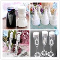 10Pcs Empty Bubble Soap Bottles Wedding Birthday Party Favor Decoration Kids Toy