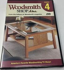Woodsmith Shop Season 4 DVD -  Brand New!