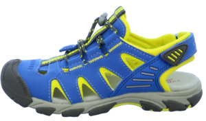 Superfit Trekkingsandalen Jungen blau/gelb Größe:26-35