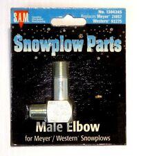 Elbow, male, Snow Plow, Meyer 21857, Western 92275, part #1304245